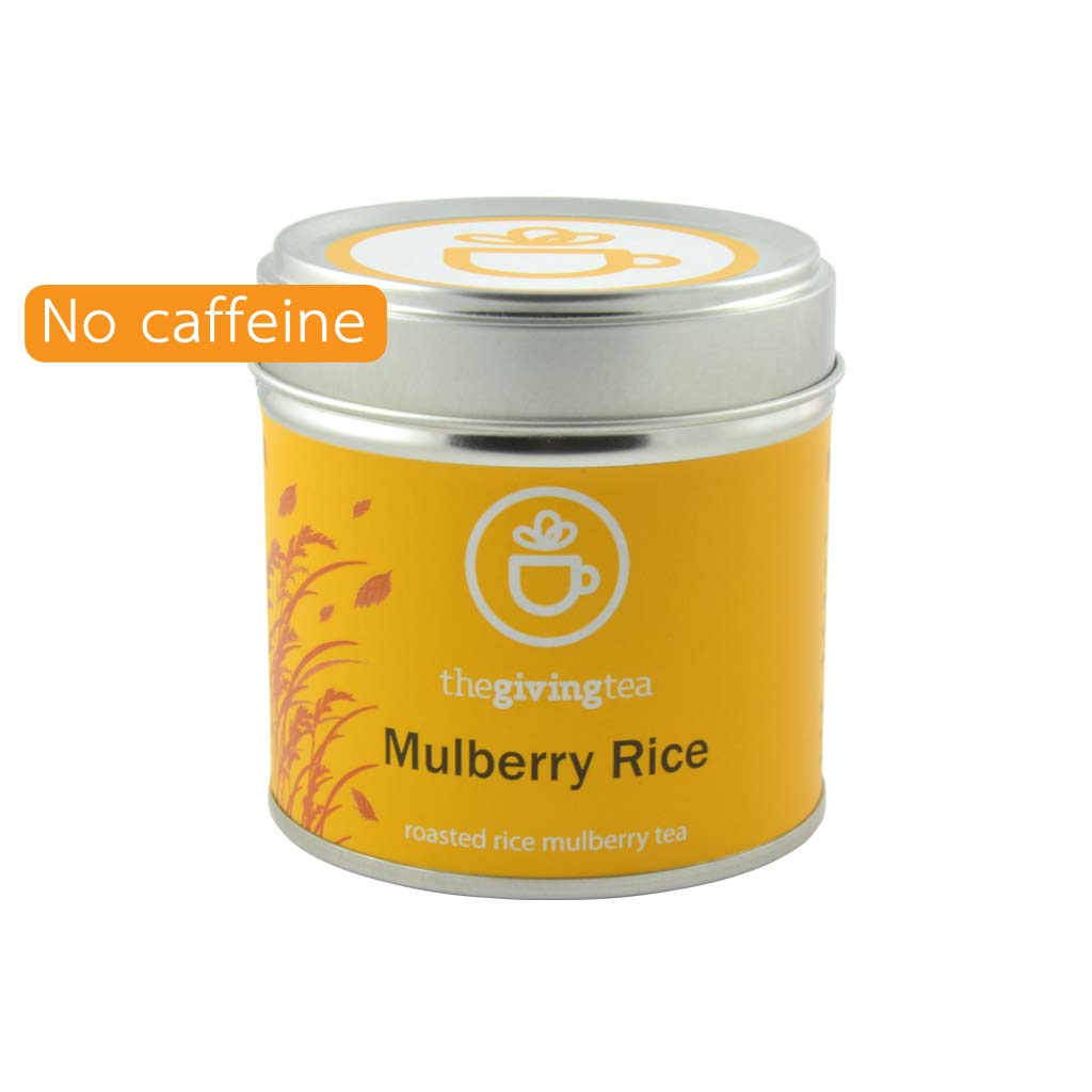 Mulberry Rice blended herbal tea small tin
