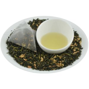 Mulberry Rice blended herbal tea flavor