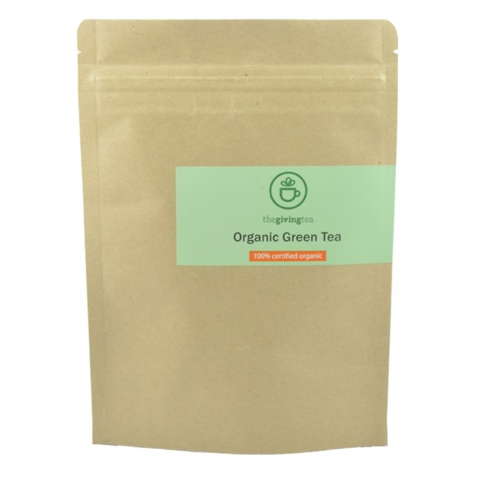 Organic Green Tea From Thailand
