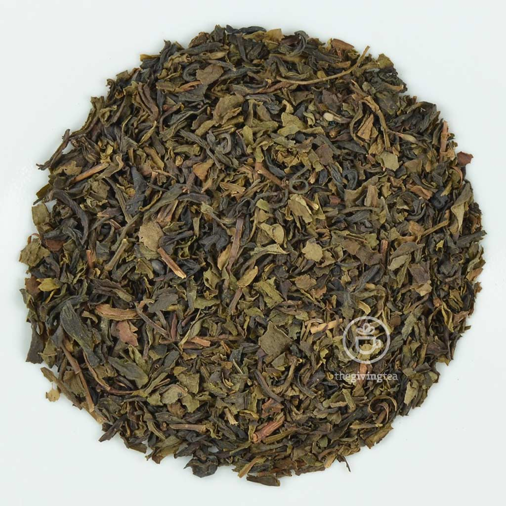 Organic green tea loose
