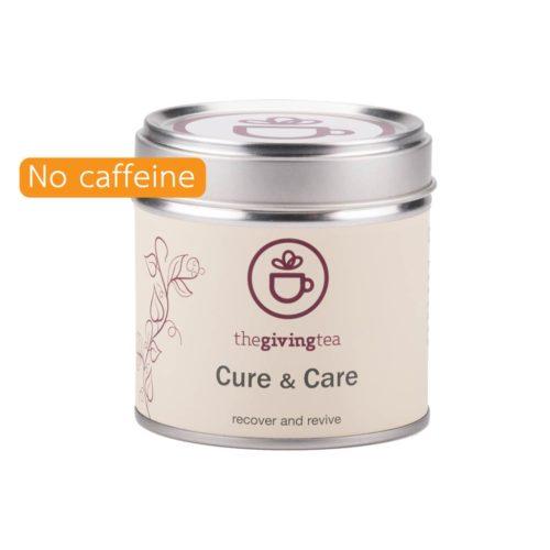 The Giving Tea Cure and Care camomile tea