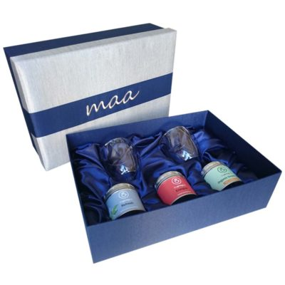 MAA corporate gift set. New year tea set.