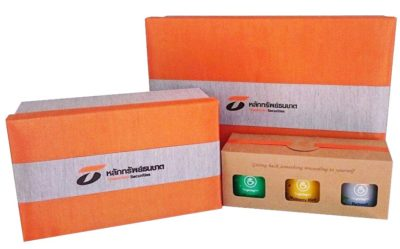 Thanachart premium tea gift set. Corporate gift