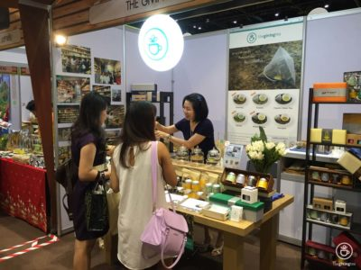 The Giving Tea at organic and natural expo 2016
