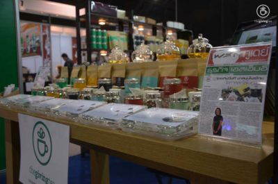 thailand industry expo at Impact. herbal tea The Giving Tea