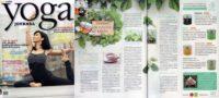บทความชาเพื่อสุขภาพในนิตยสาร Yoga Journal - The Giving Tea