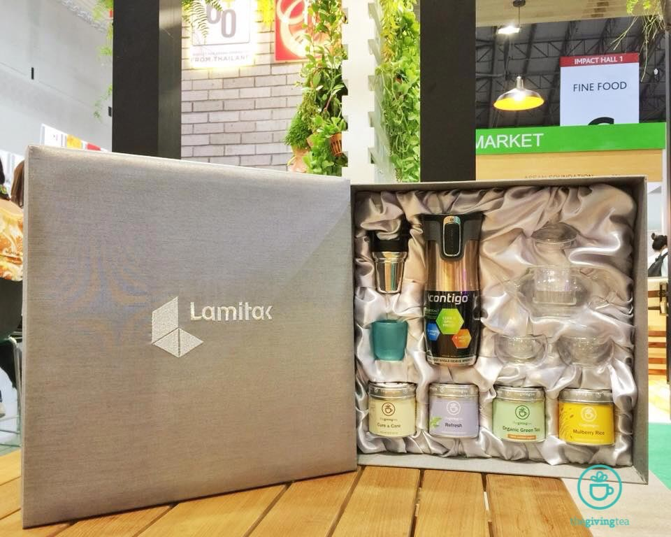 Lamitak premium top tier silk box set